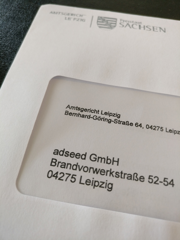 Umbenennung in adseed GmbH