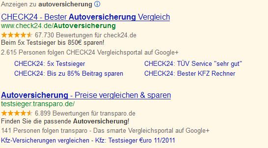 Google+ Erweiterung