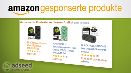 Amazon gesponserte Produkte