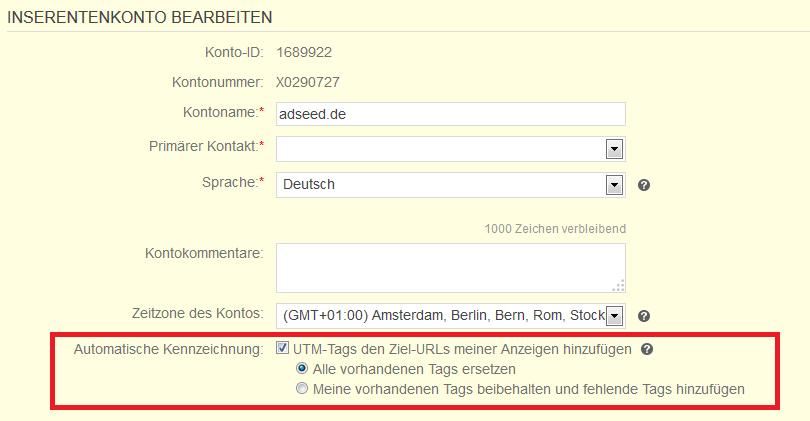 Bing Ads Auto-Tagging
