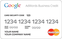 Google AdWords Business Credit