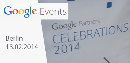 Google Partner Celebrations 2014 in Berlin