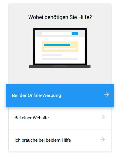 Google Partner Suche