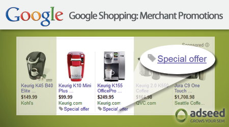 Google Shopping Merchant Promotions