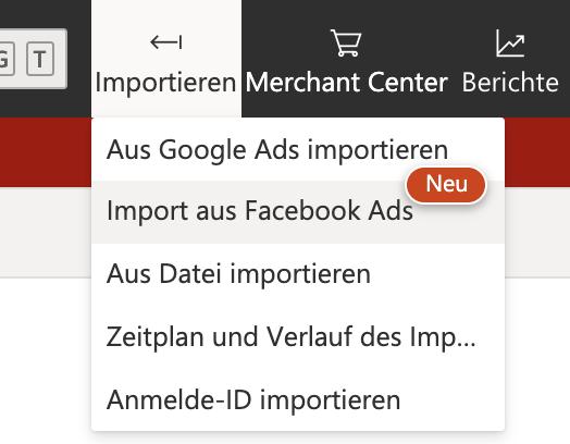 Microsoft Ads FB Import