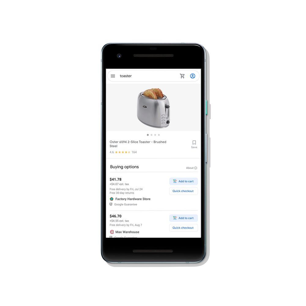 Buy on Google - direkter Kauf auf Google Shopping