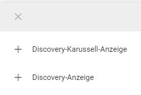 Discovery Anzeigenformate