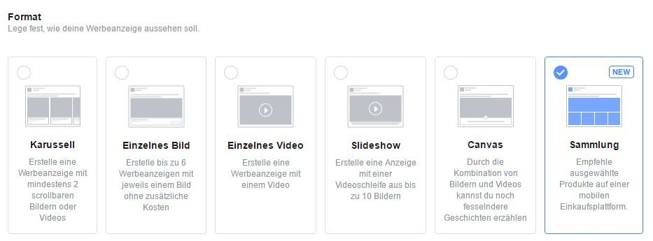 Facebook Ads Collection