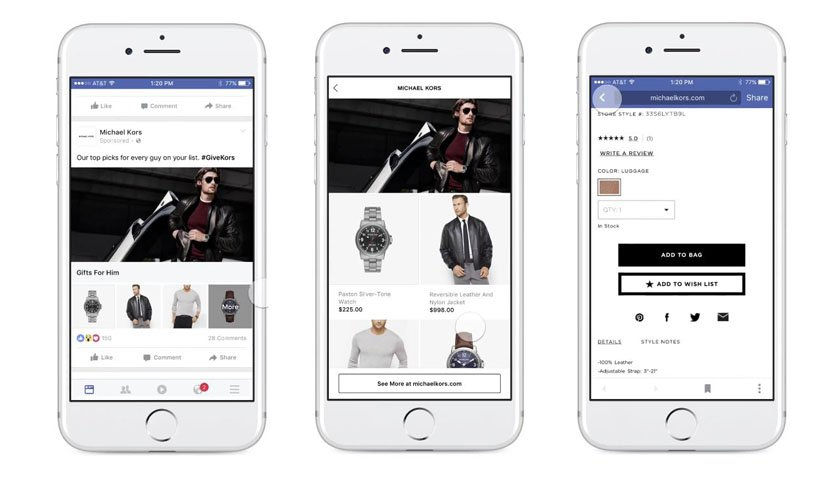 Facebook Ads Collection Preview