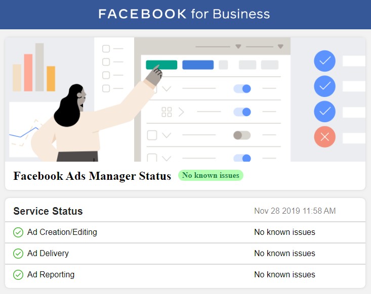 Facebook Ads Status Monitor