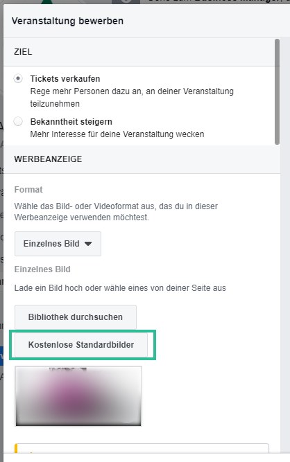 Facebook Veranstaltung bewerben