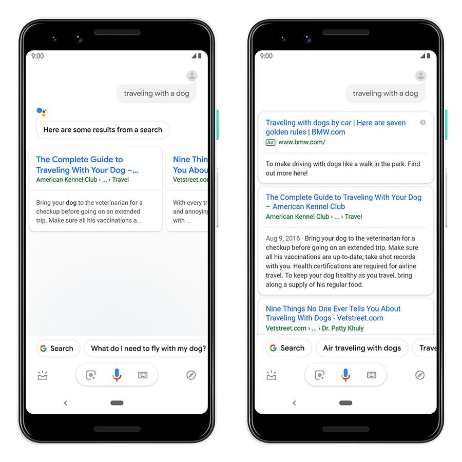 GoogleAds im Google Assistant