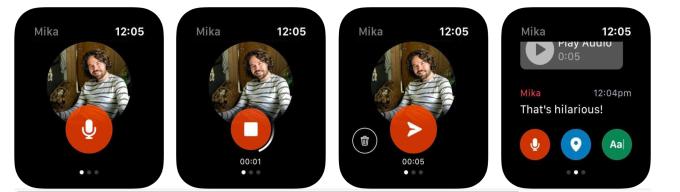 Facebook Messenger App für die Apple Watch
