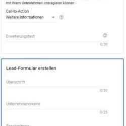 Lead Erweiterung