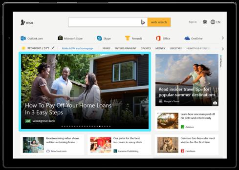 Native Ads im Microsoft Audience Network