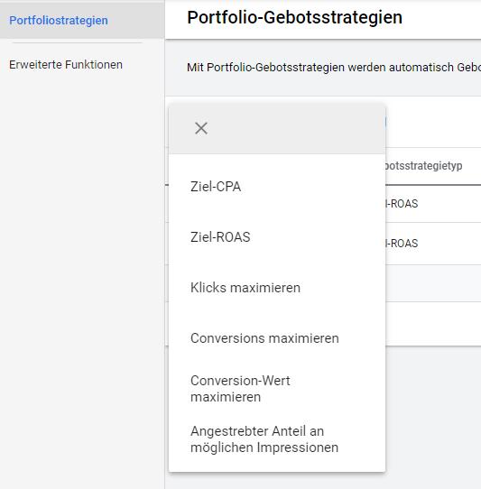 Portfolio-Gebotsstrategien