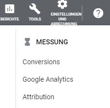 Tools - Messung - Attribution