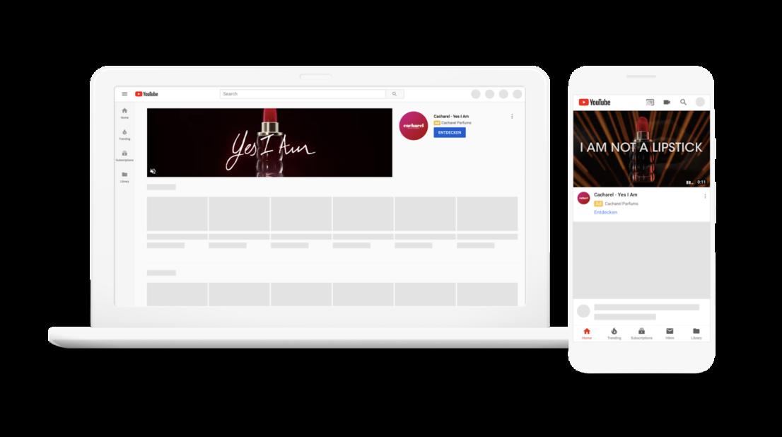 Youtube Startseiten-Ads