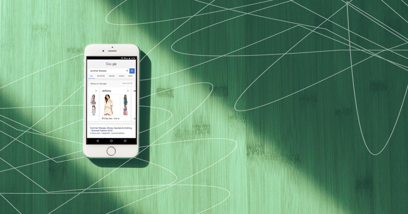 Google Showcase-Shopping-Anzeigen