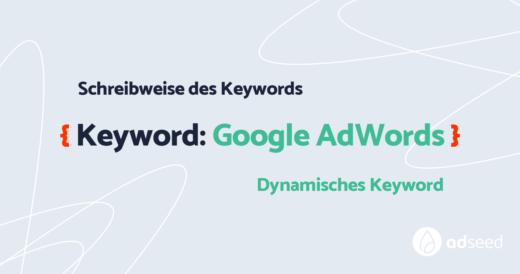 adseed - AdWords Keyword Insertion Platzhalter