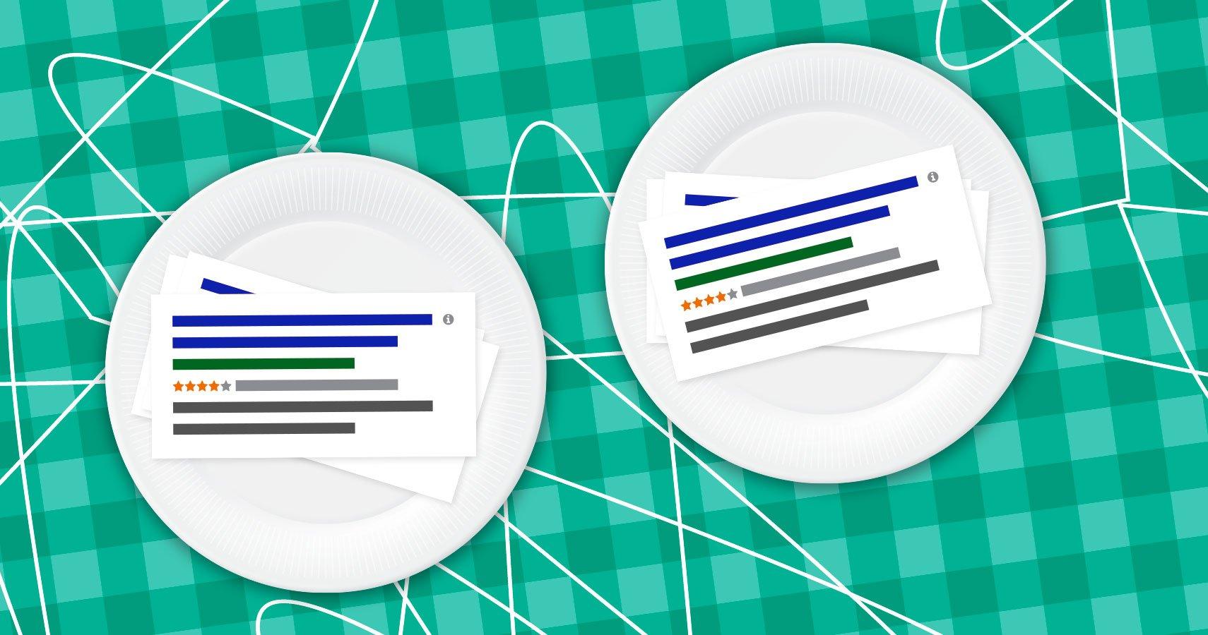 Doppeltes Werben mit Google AdWords