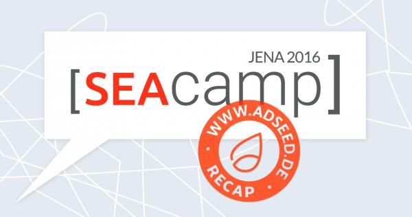 adseed - SEAcamp 2016 Recap