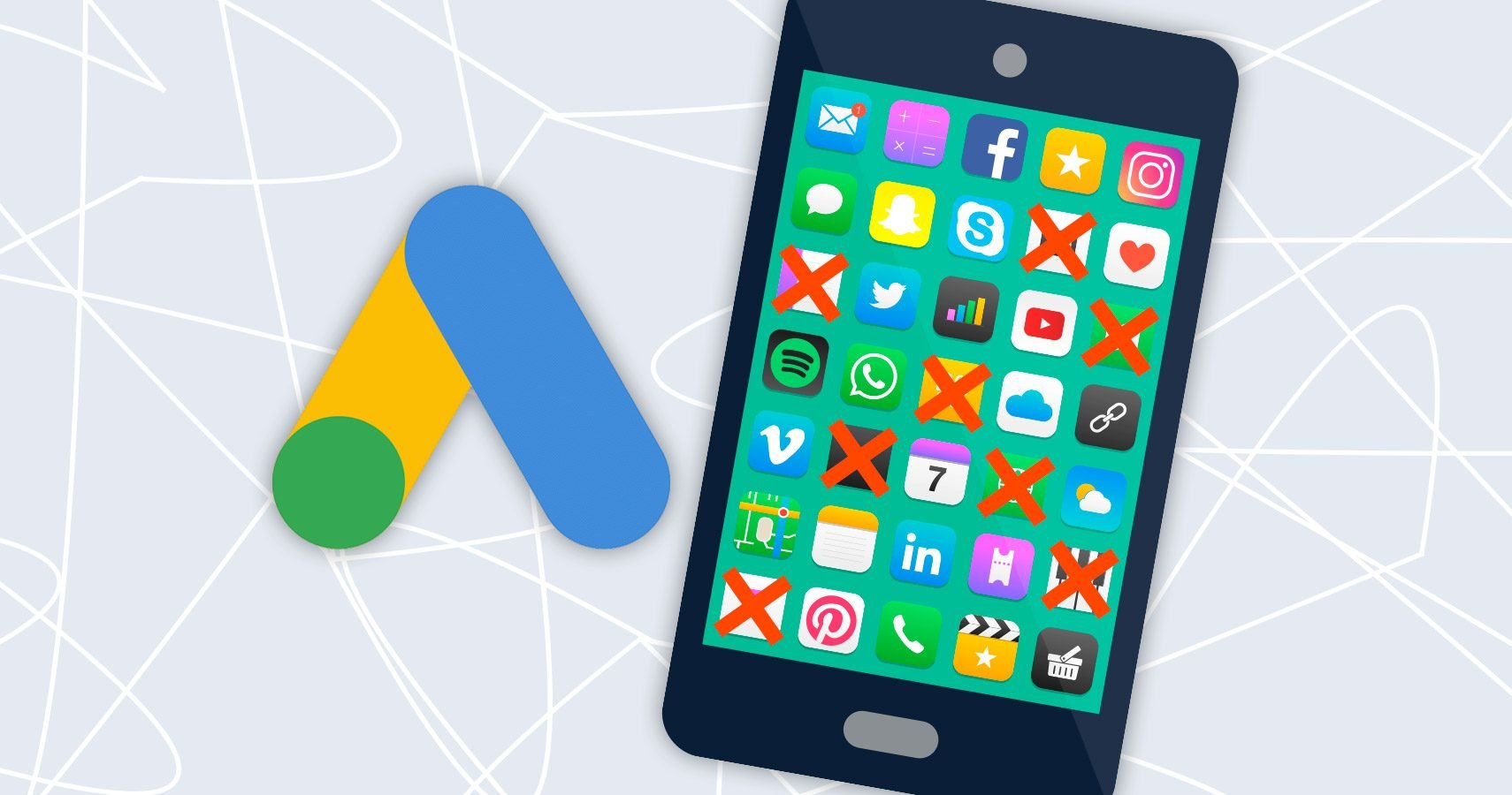 adseed - mobile Apps ausschliessen in Google Ads