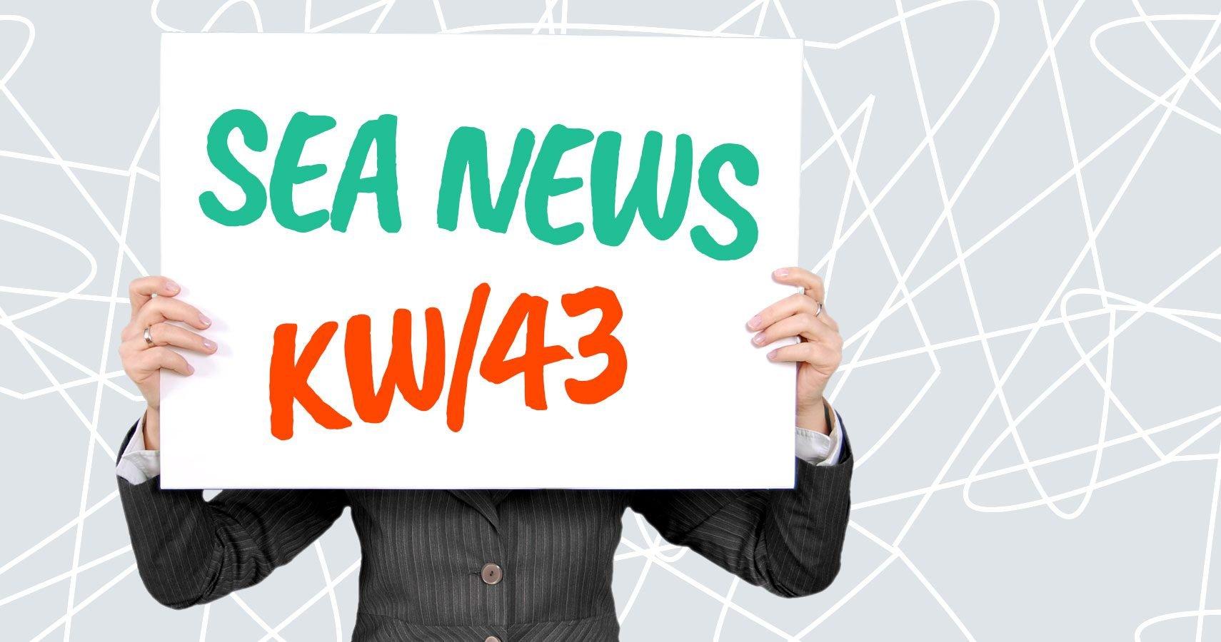 SEA News Woche 43/2019