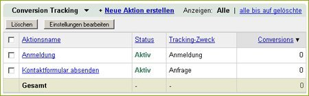 adseed - Conversion Tracking