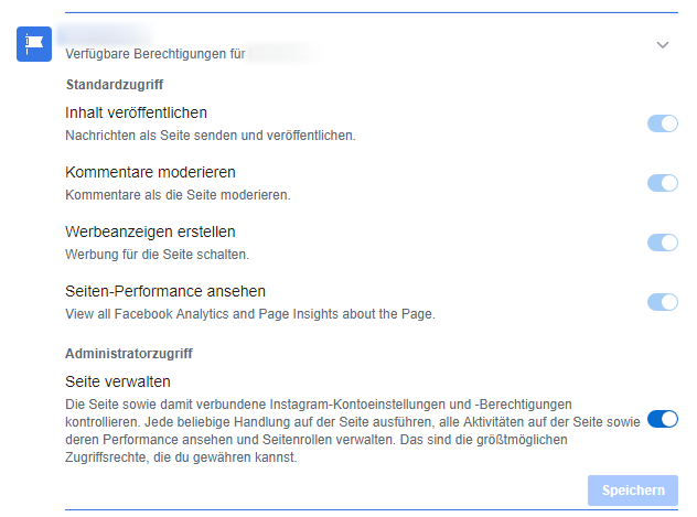 Facebook Business Manager Aufgaben