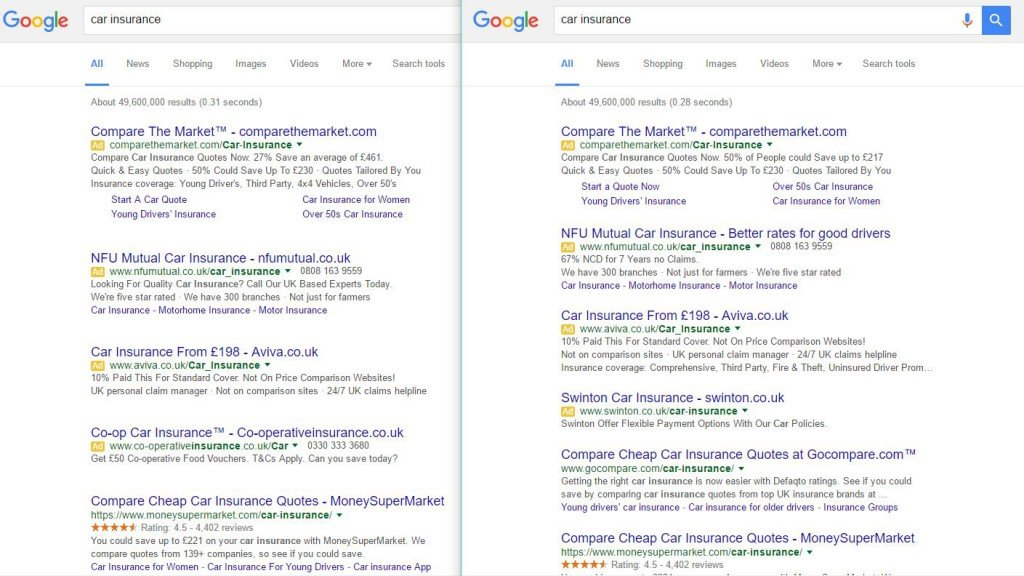 google-spacing-serps-test