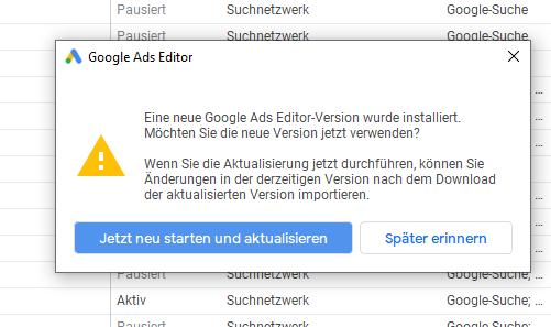 Google Ads Editor 1.2