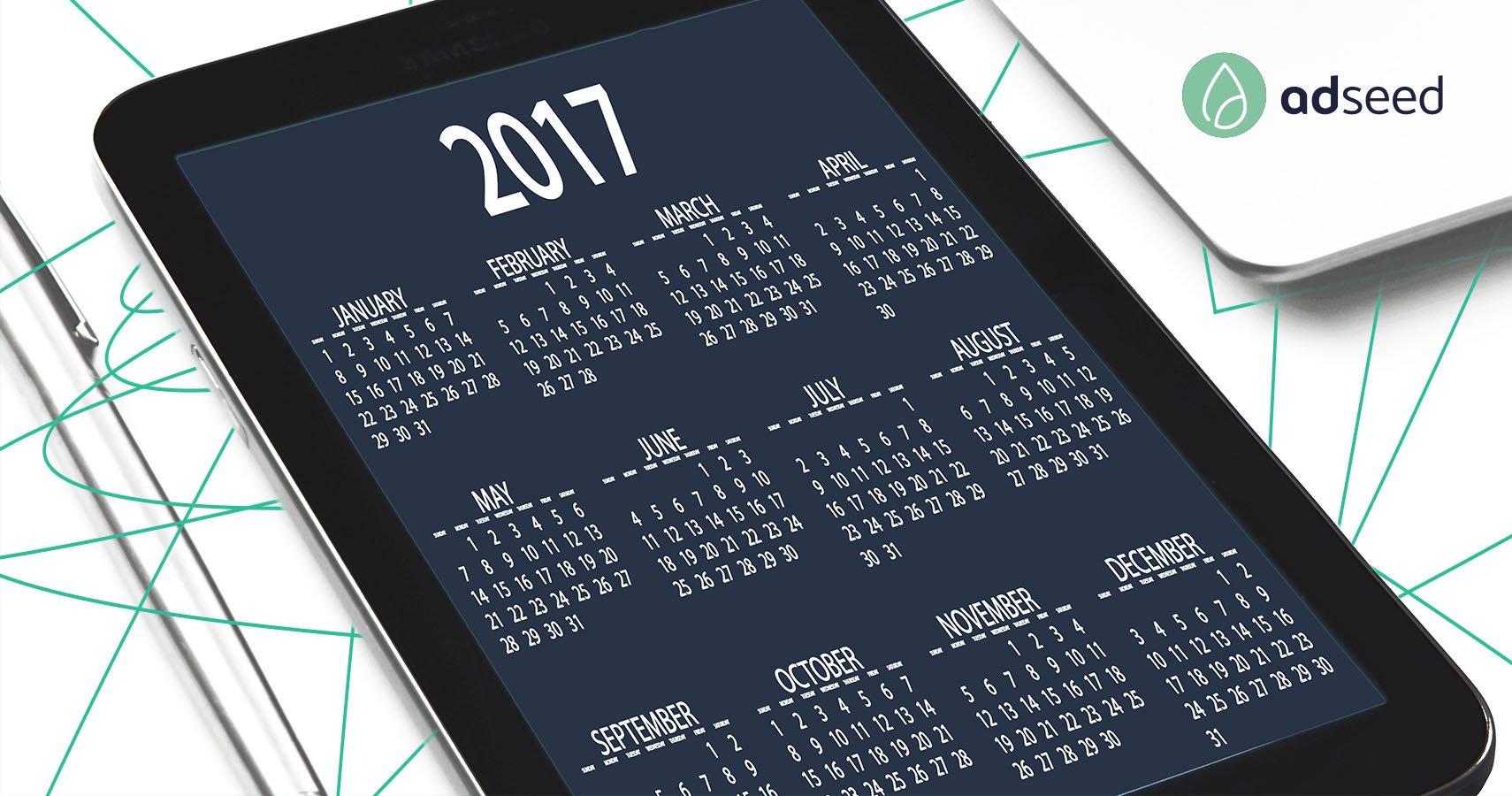 AdWords Jahresrückblick 2017