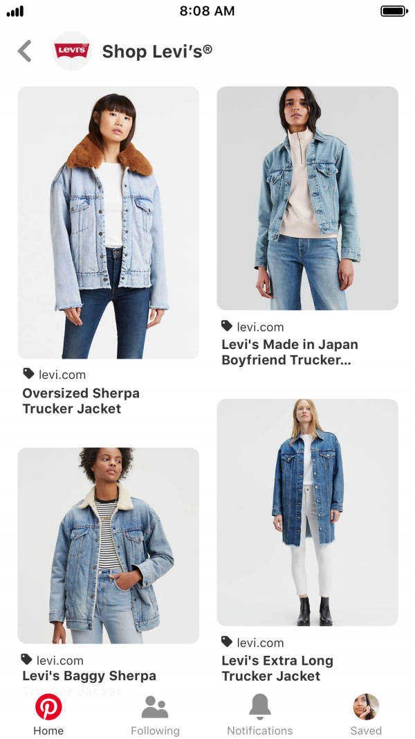 Pinterest Shopping Ads
